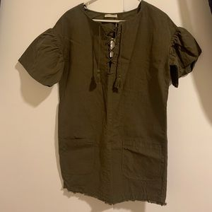 Ulla Johnson ruffle sleeve dress new w/ tags